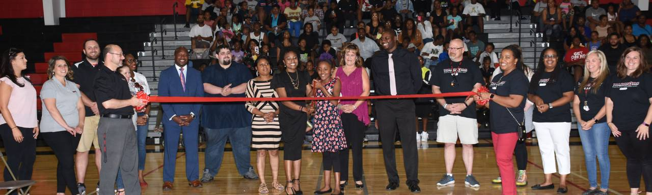 Westfield Preparatory High School ribbon-cutting ceremony